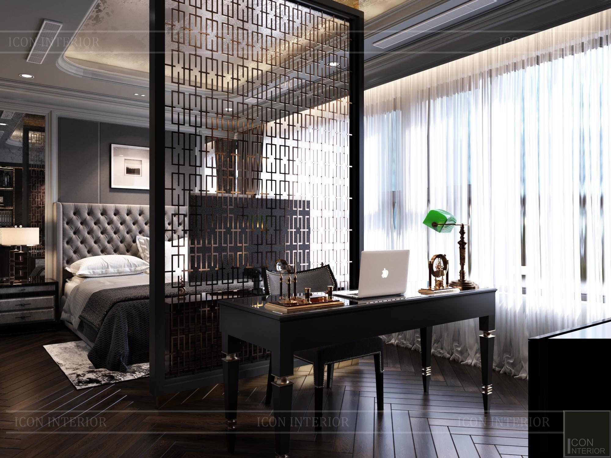 Nội thất phòng ngủ căn hộ Kingdom