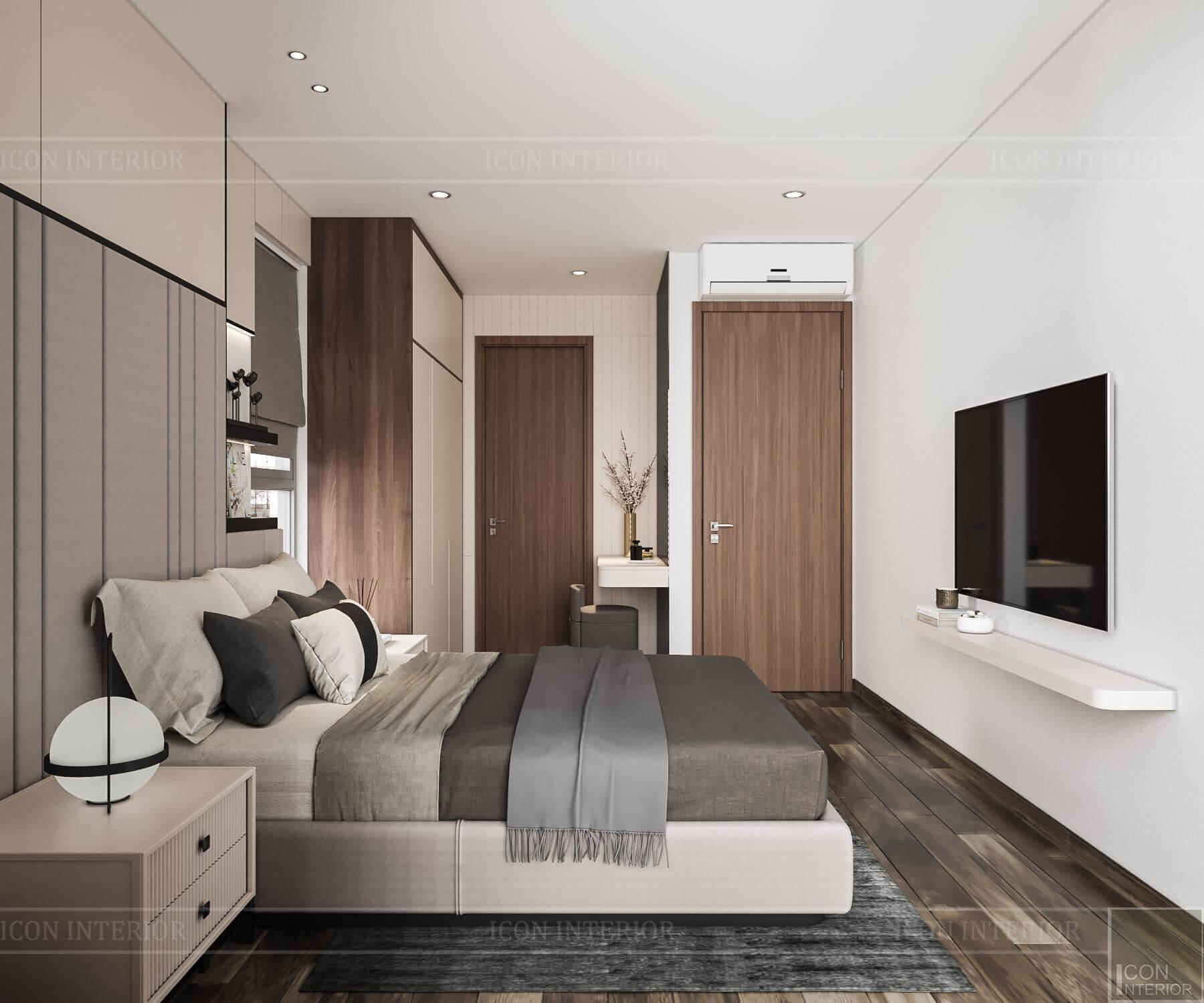 Nội thất căn hộ Hado Centrosa - phòng ngủ 3