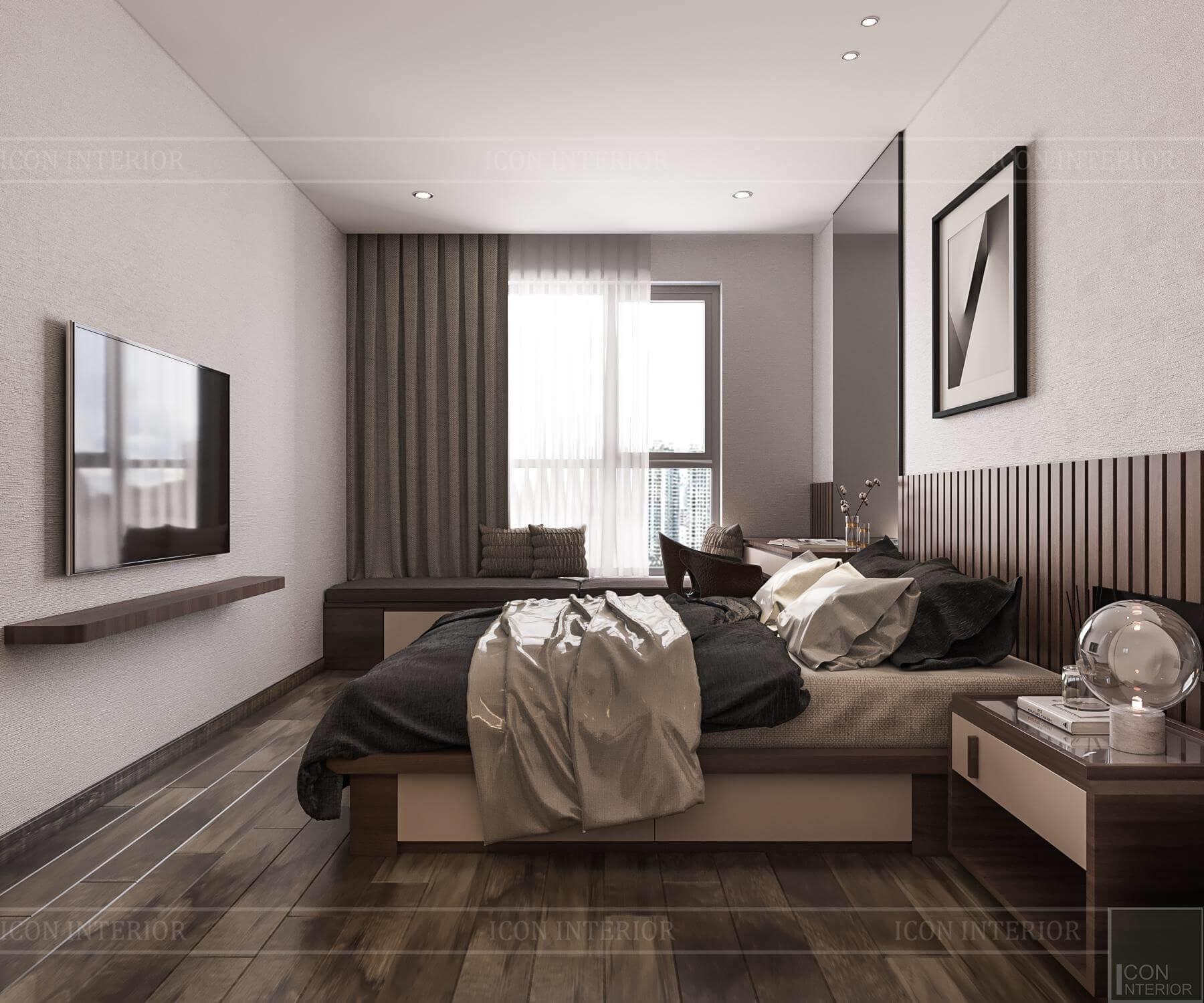 Nội thất căn hộ Hado Centrosa - phòng ngủ 7