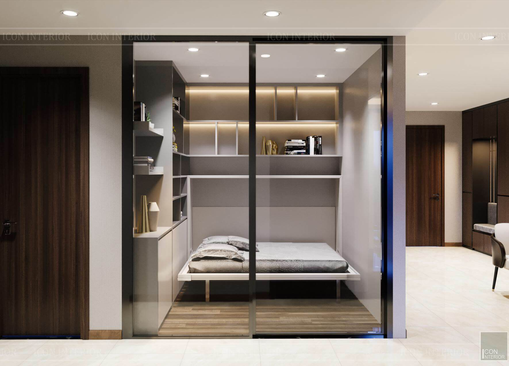 Nội thất căn hộ Hado Centrosa - phòng đa năng