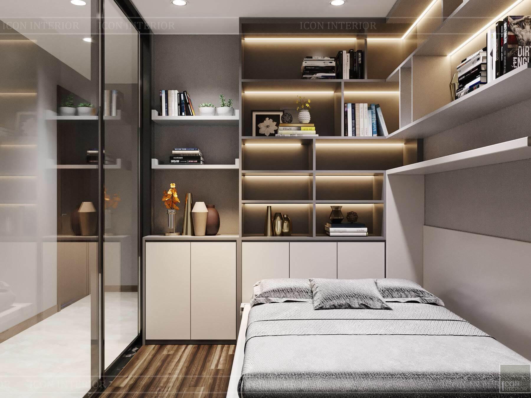 Nội thất căn hộ Hado Centrosa - phòng đa năng 1