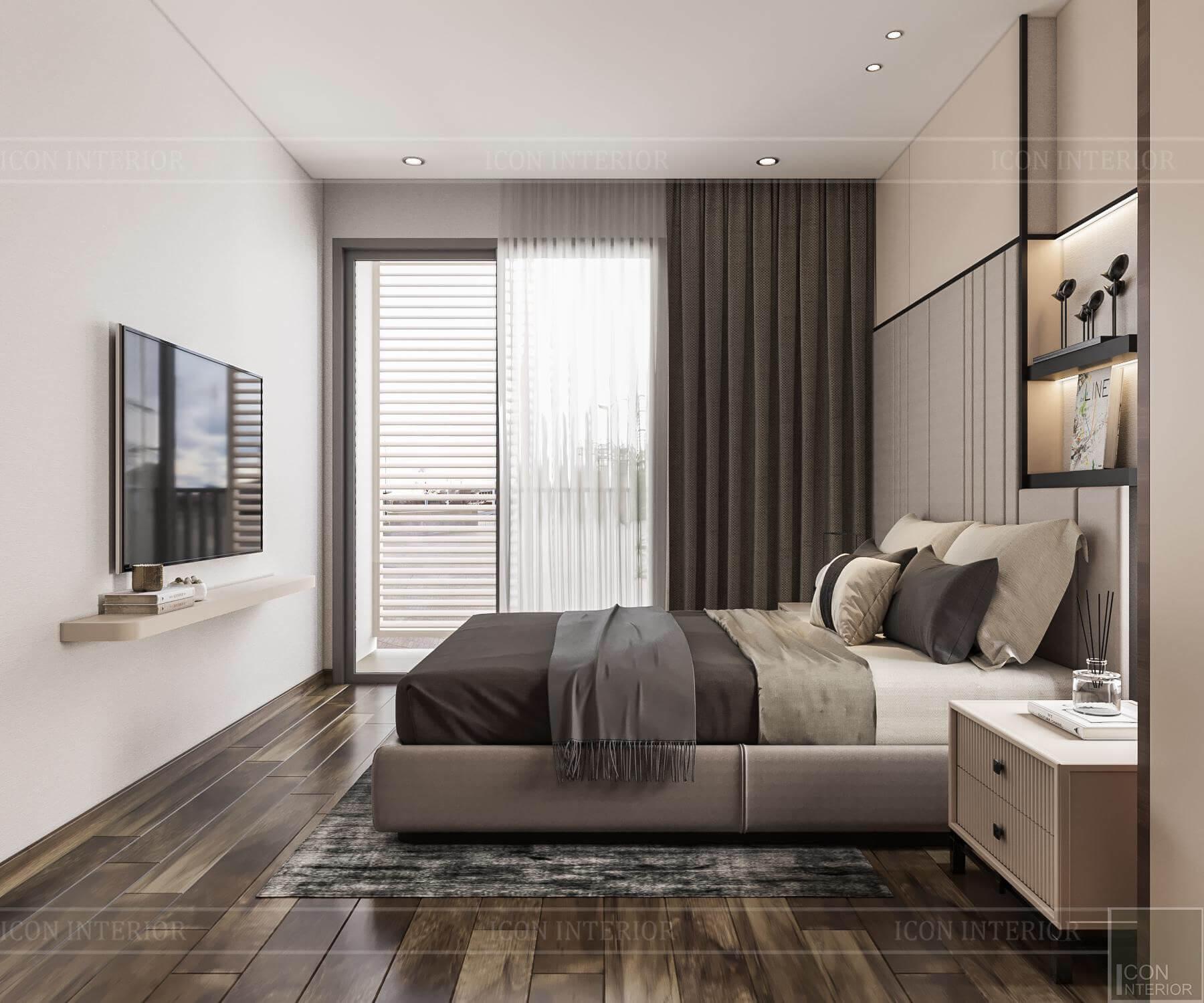 Nội thất căn hộ Hado Centrosa - phòngngủ 1