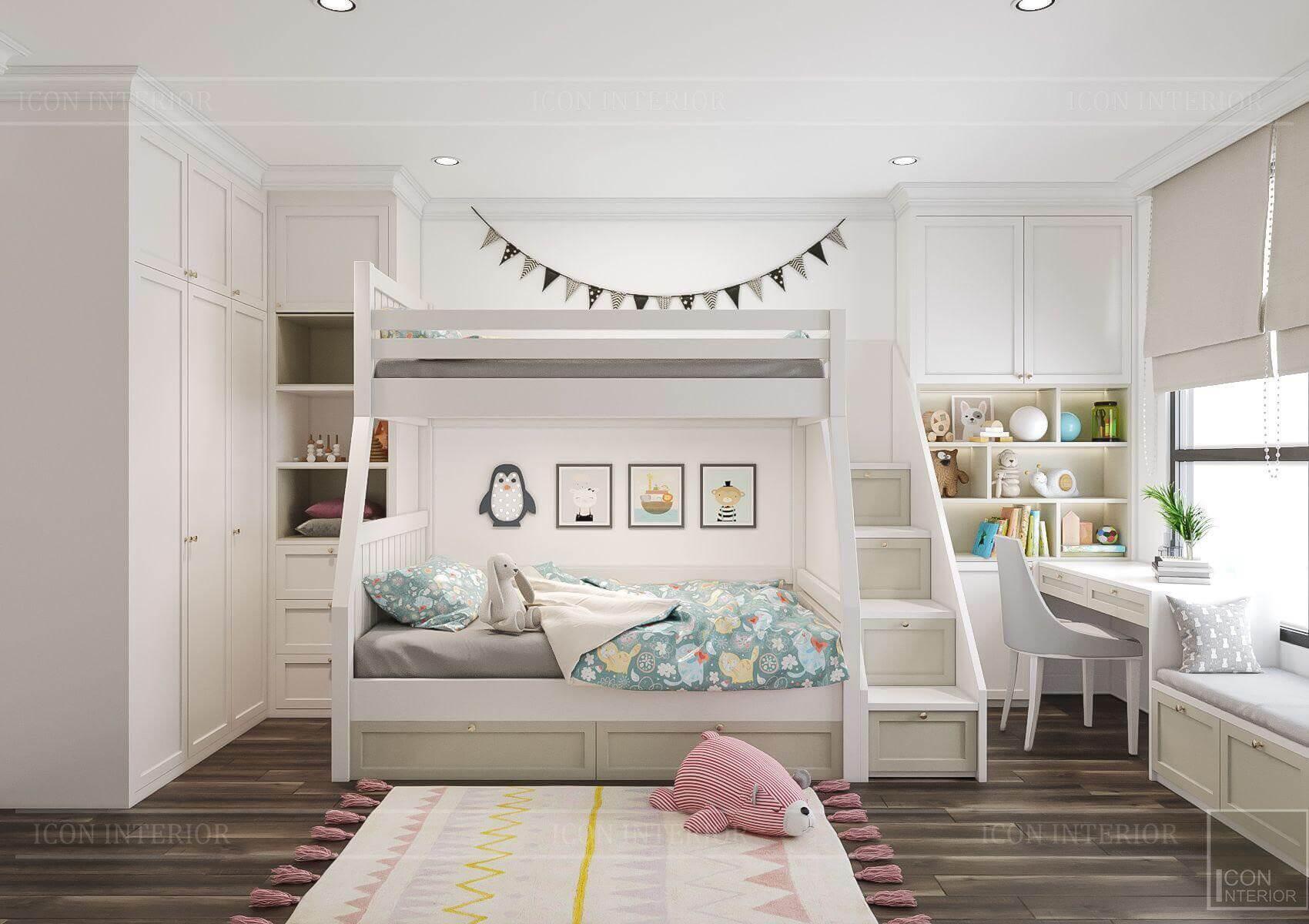phòng ngủ căn hộ Hado Centrosa