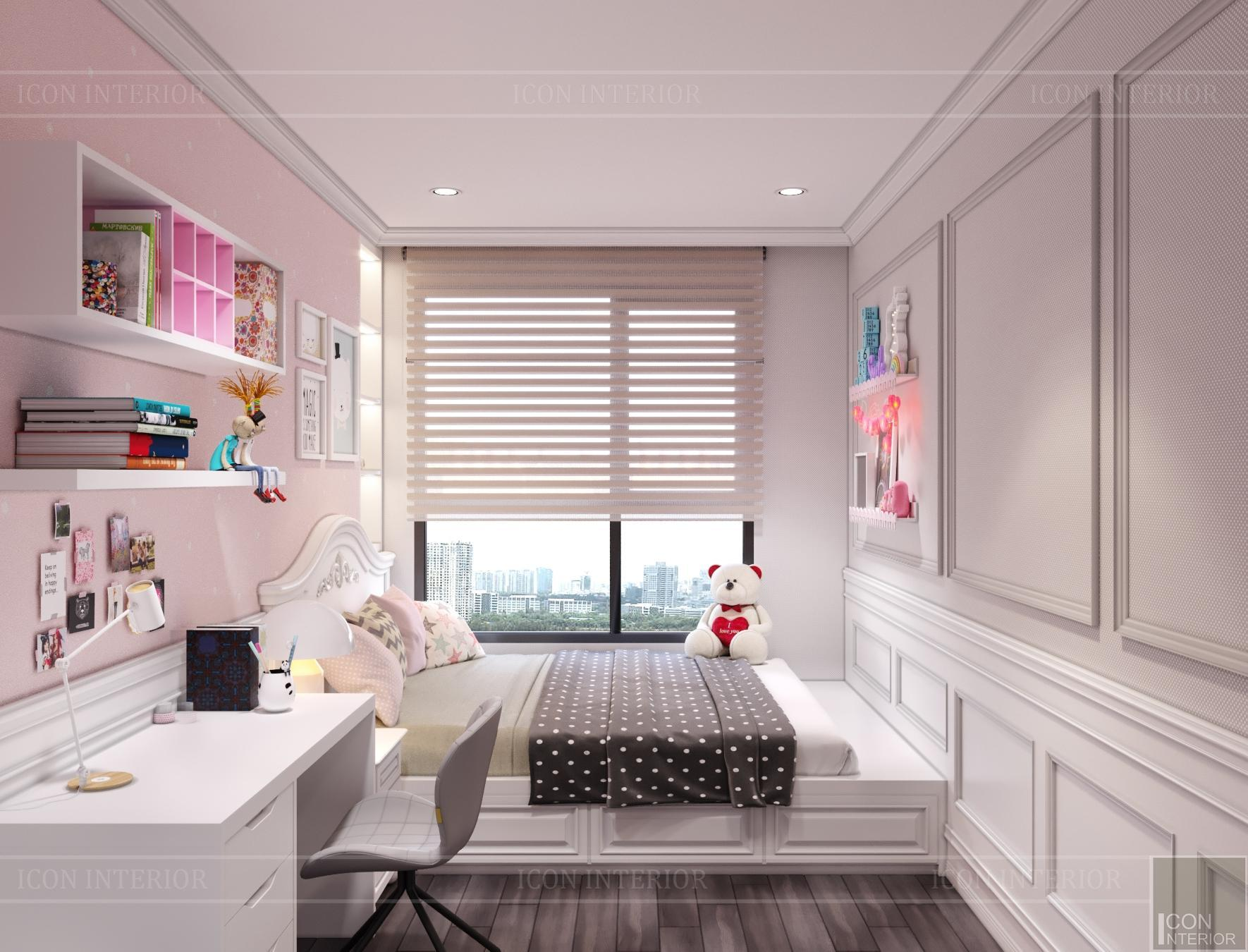 Nội thất căn hộ Hà Đô Centrosa - phòng ngủ trẻ em