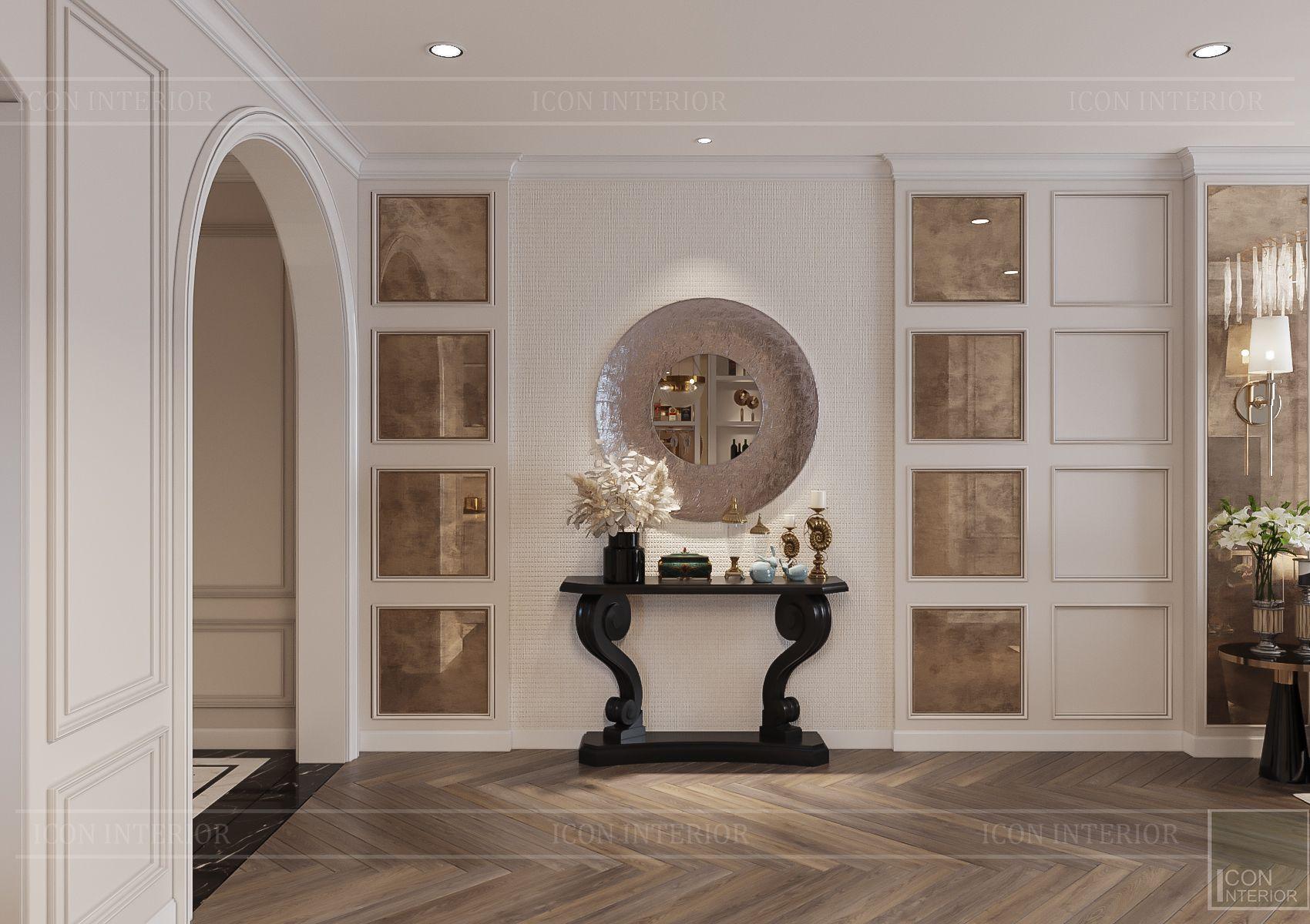 Thiết kế nội thất Hà Đô Centrosa - sảnh