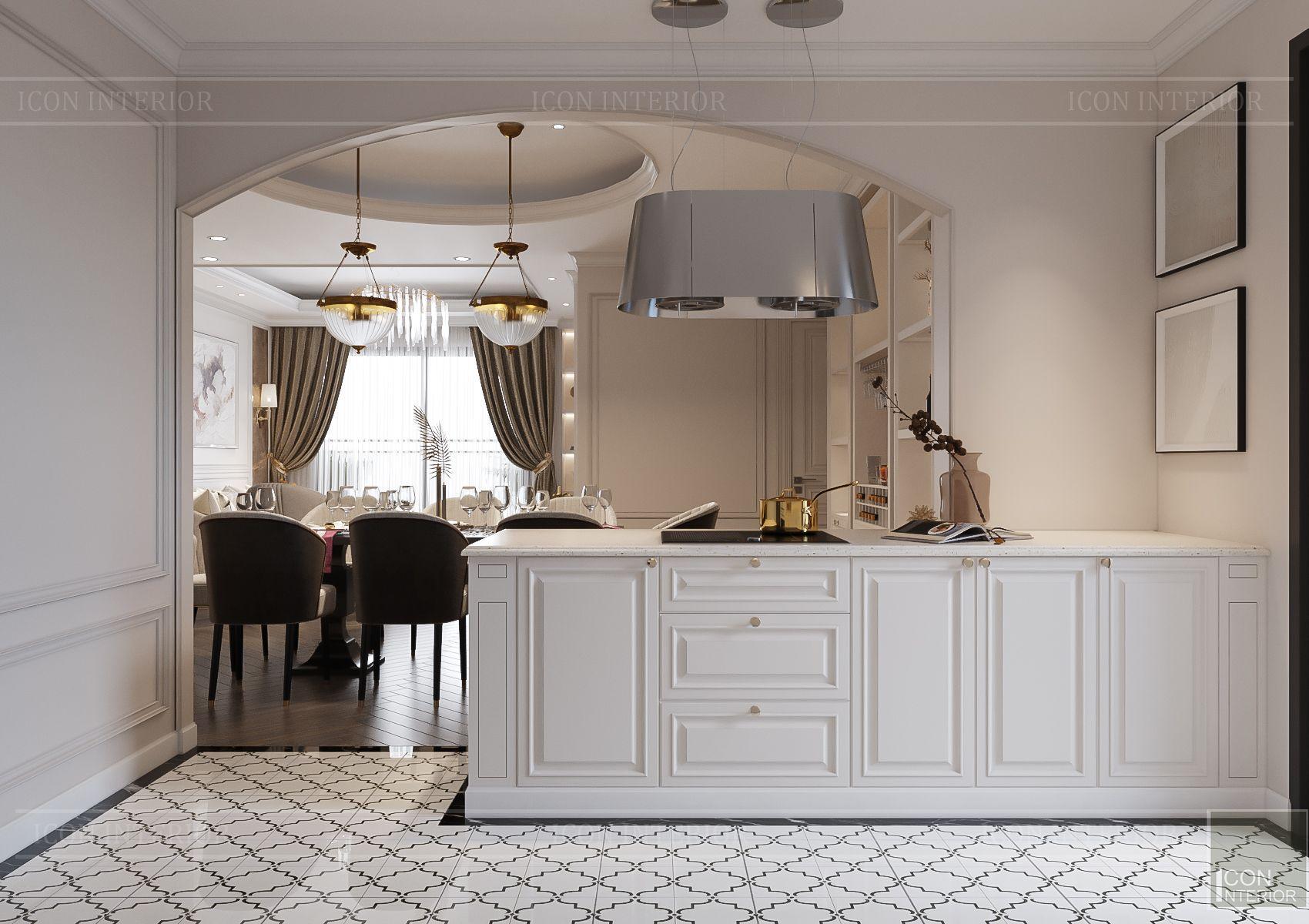 Nội thất căn hộ Hà Đô Centrosa - bếp