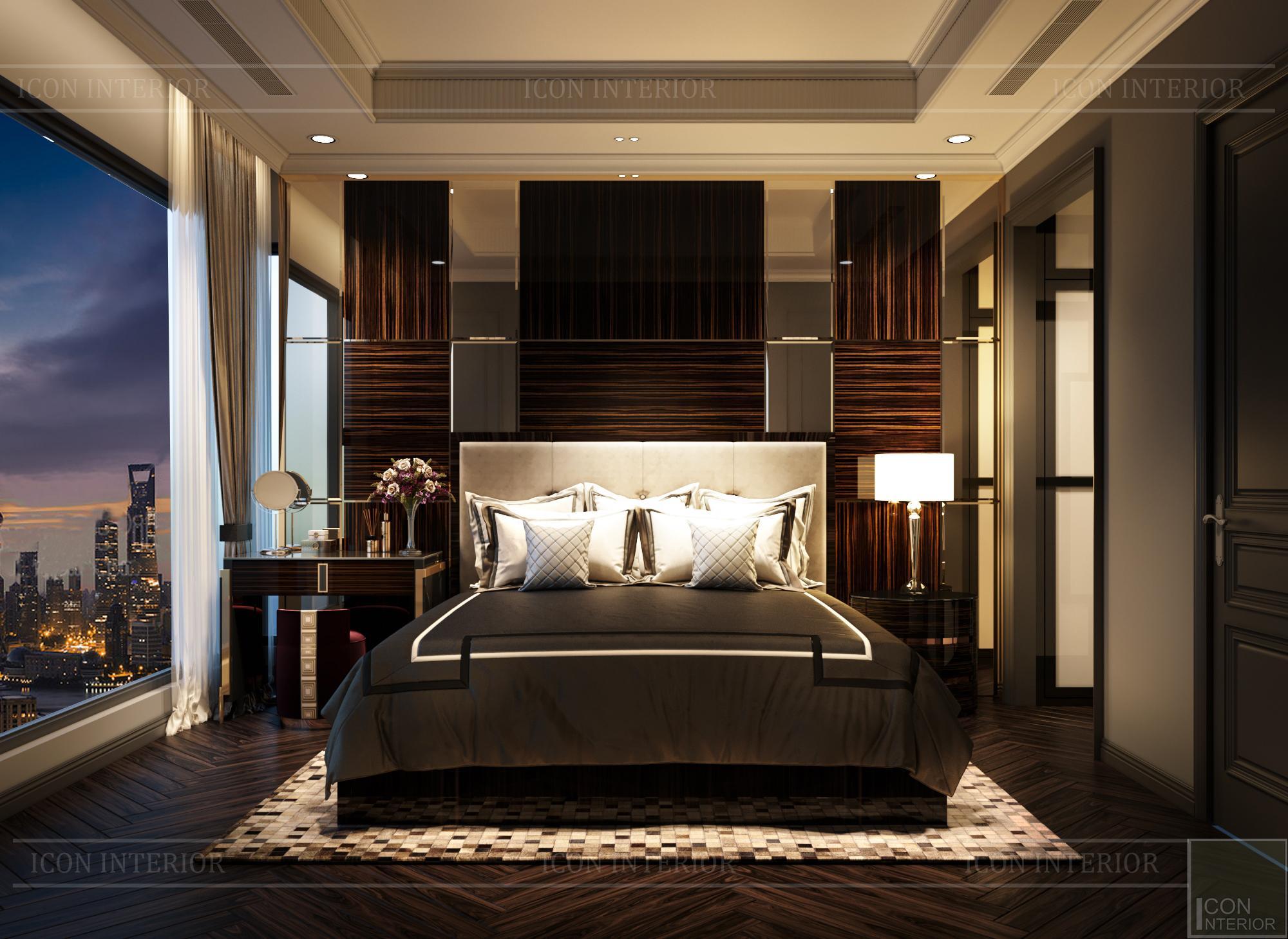 penthouse kingdom 101 quận 10 -phòng ngủ