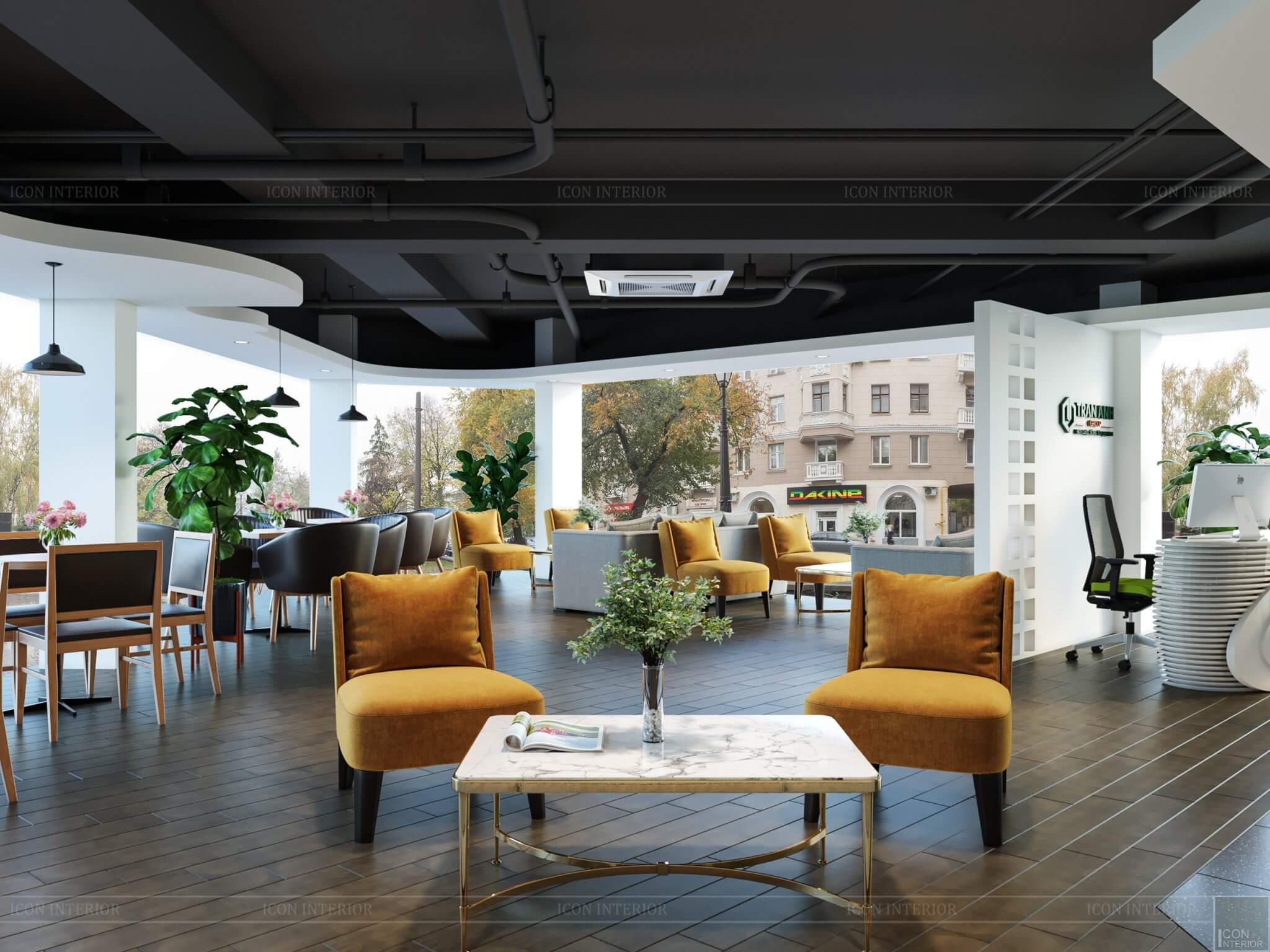 Thiết kế nội thất sàn giao dịch bất động sản