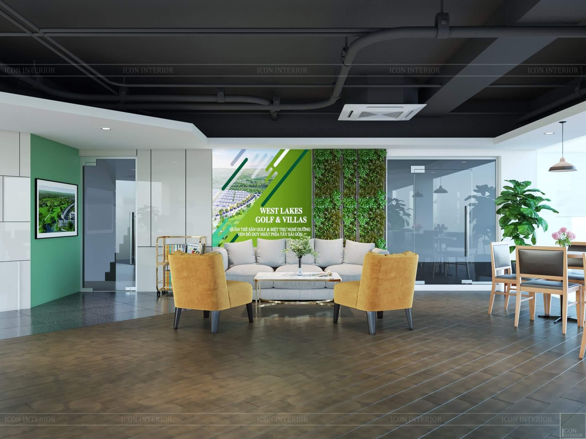 Ý tưởng thiết kế nội thất sàn giao dịch