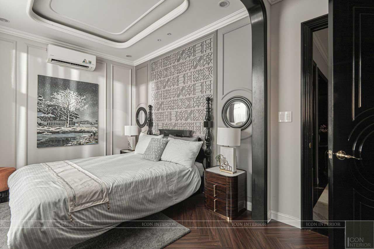 thiết kế thi công phòng ngủ biệt thự