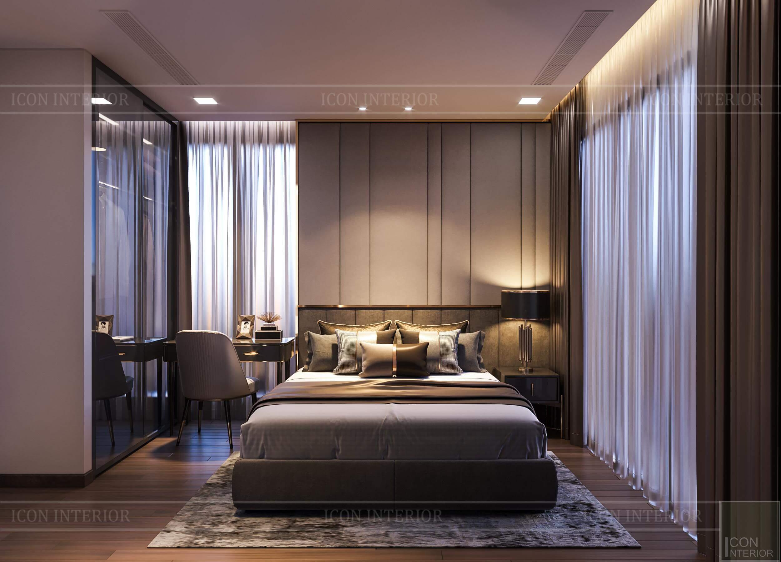 Thiết kế nội thất căn hộ Vinhomes BaSon Ms.TINA - phòng ngủ 1