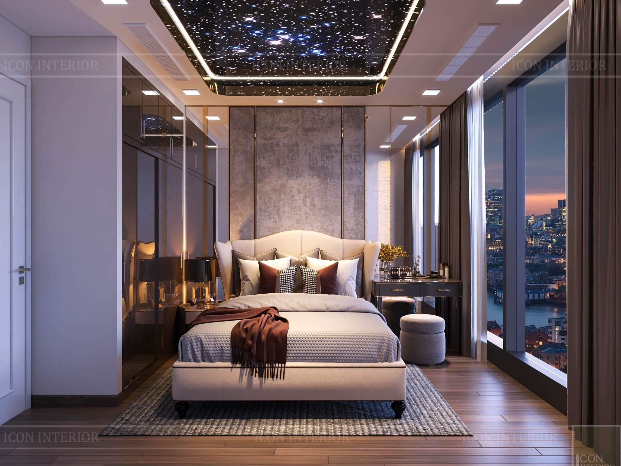 Thiết kế nội thất căn hộ Vinhomes BaSon Ms.TINA - phòng ngủ 2