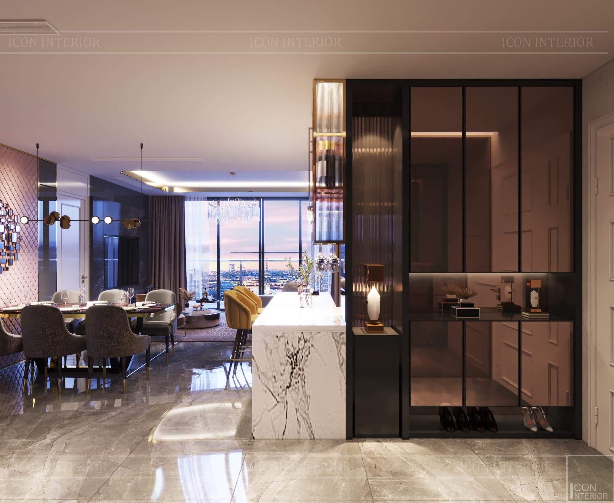 Thiết kế nội thất căn hộ Vinhomes BaSon Ms.TINA - tổng thể căn hộ