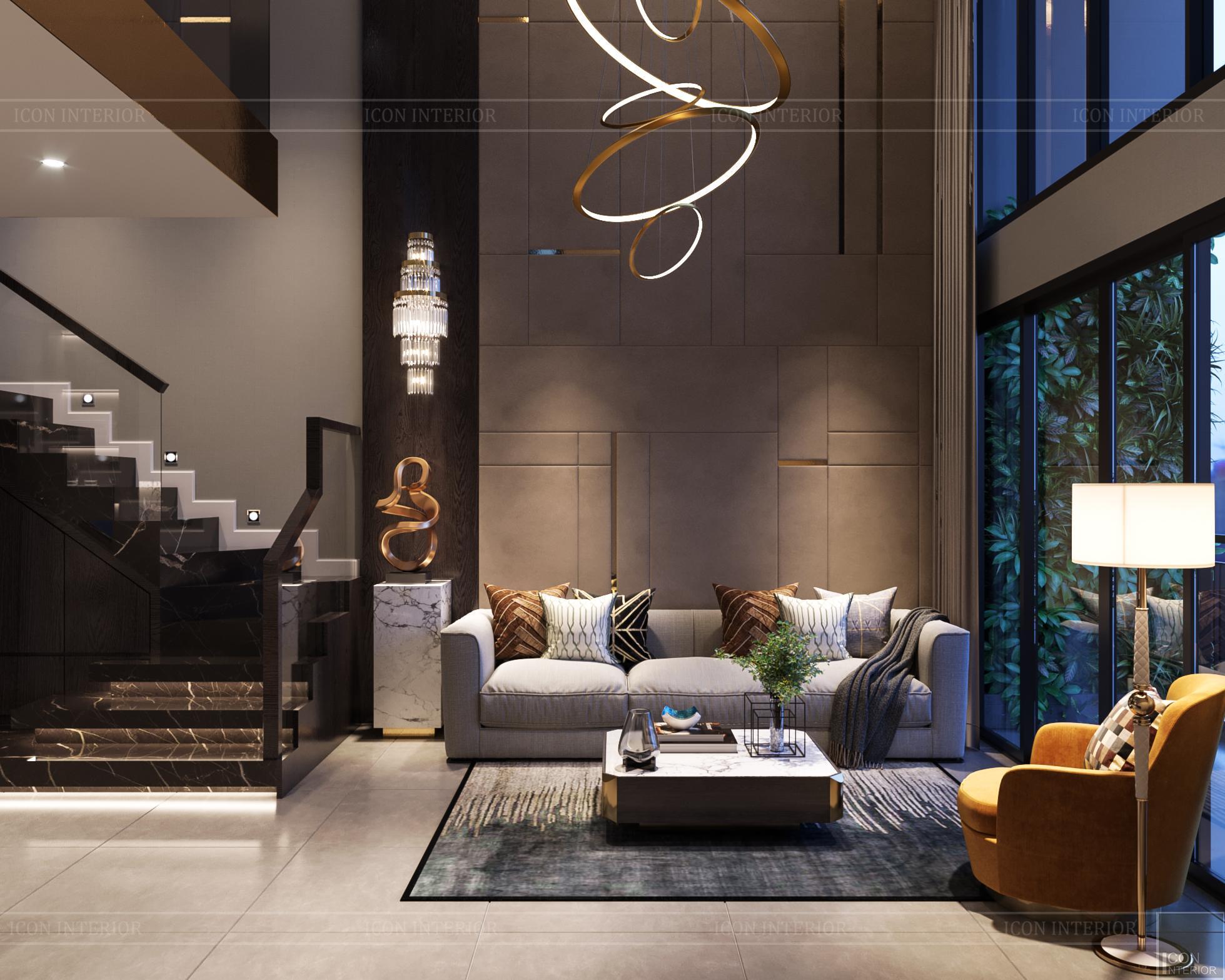 Thiết kế nội thất nhà mẫu phú đông sky garden 2
