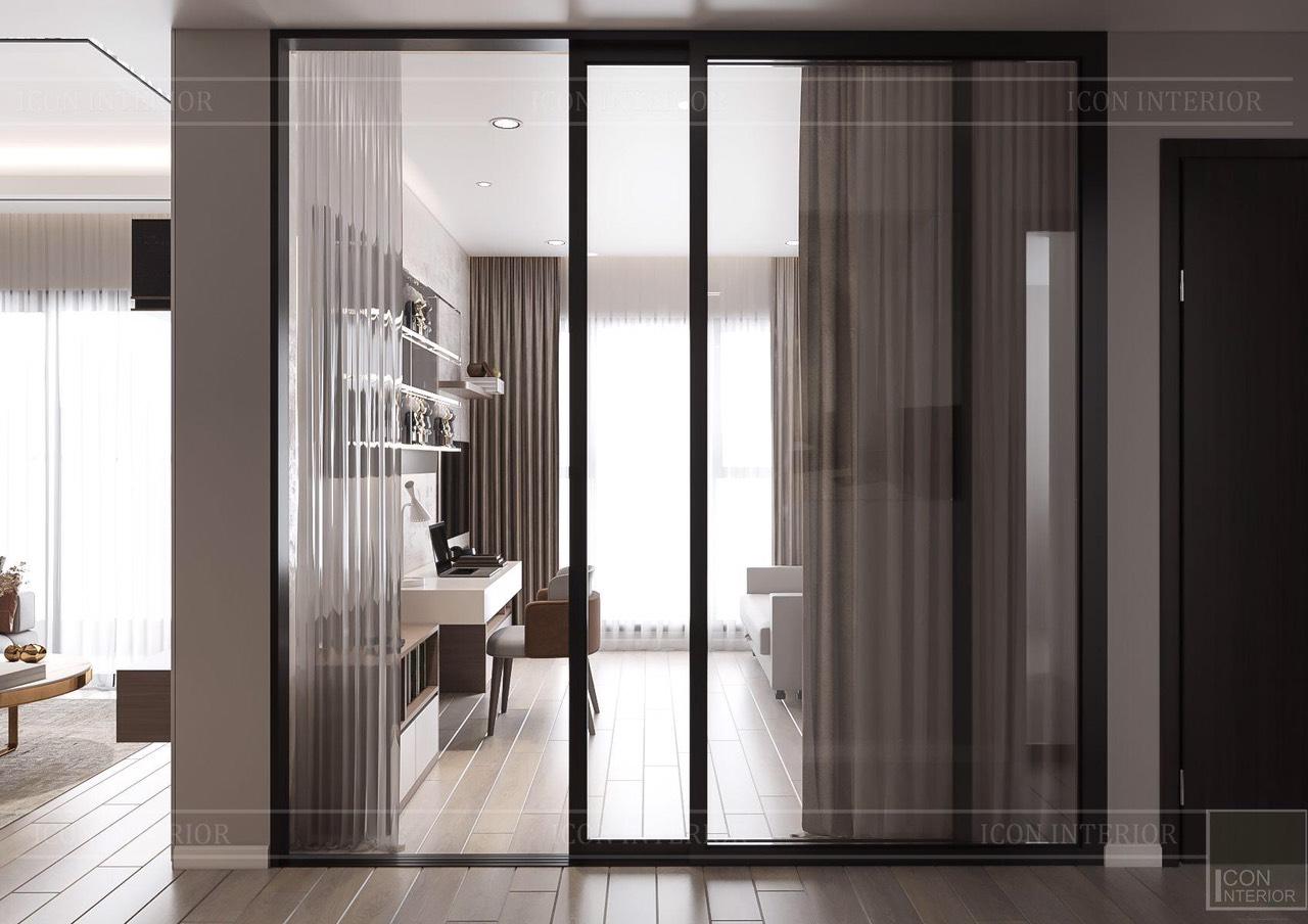 Thiết kế nội thất căn hộ Feliz En Vista ms.Hà B.17.10 - phòng đa năng
