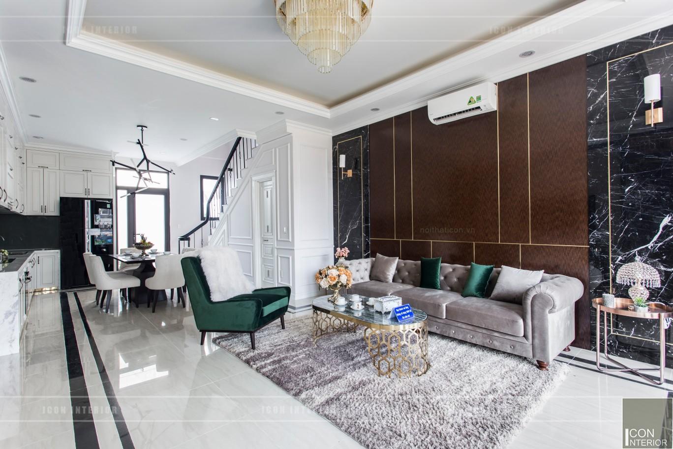 Thi công nội thất nhà phố Long Phú Residence