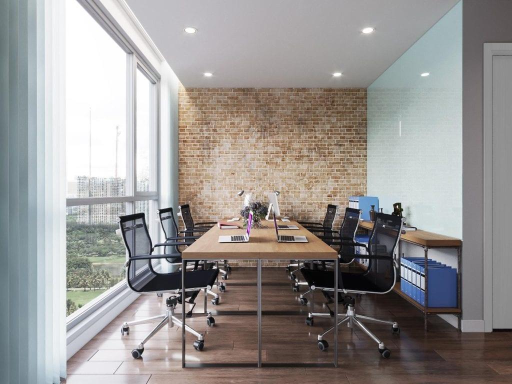 Bố trí phòng họp có ánh sáng tự nhiên