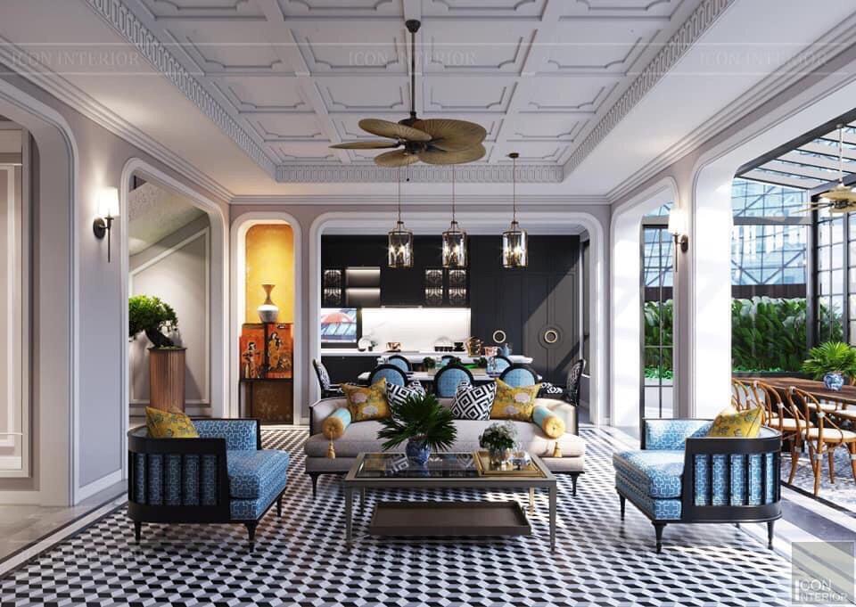 Cách phối màu sơn và nội thất từ thương hiệu ICON INTERIOR