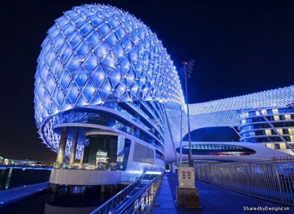 Khách sạn đẳng cấp tại UAE đặc biệt với Parametric Design