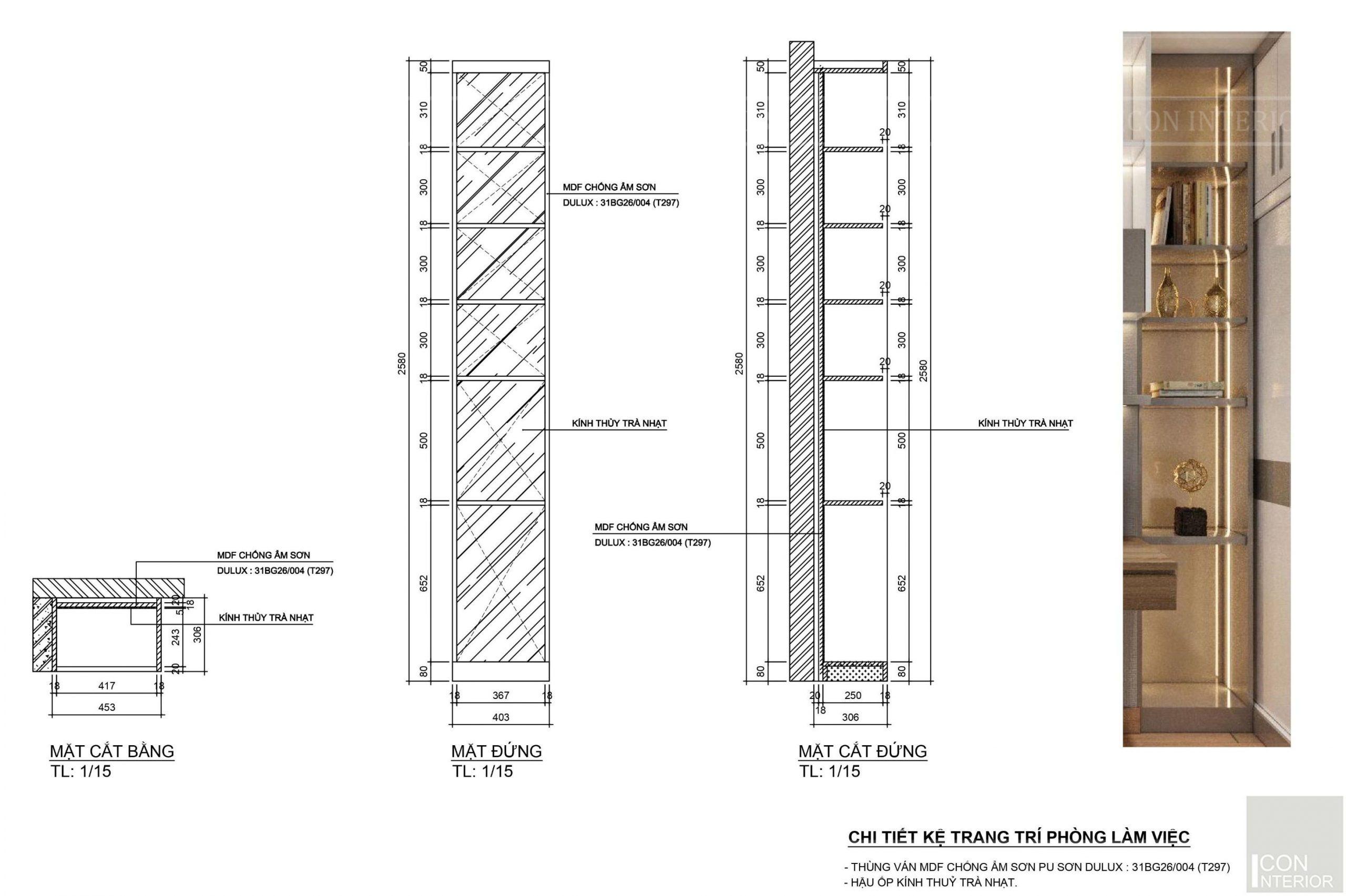 Kích thước tiêu chuẩn của đồ nội thất 5