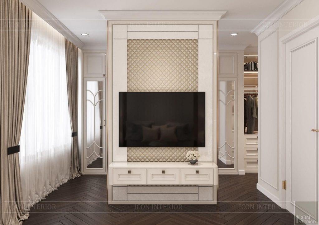 Kích thước kệ tivi gắn tường hoàn hảo