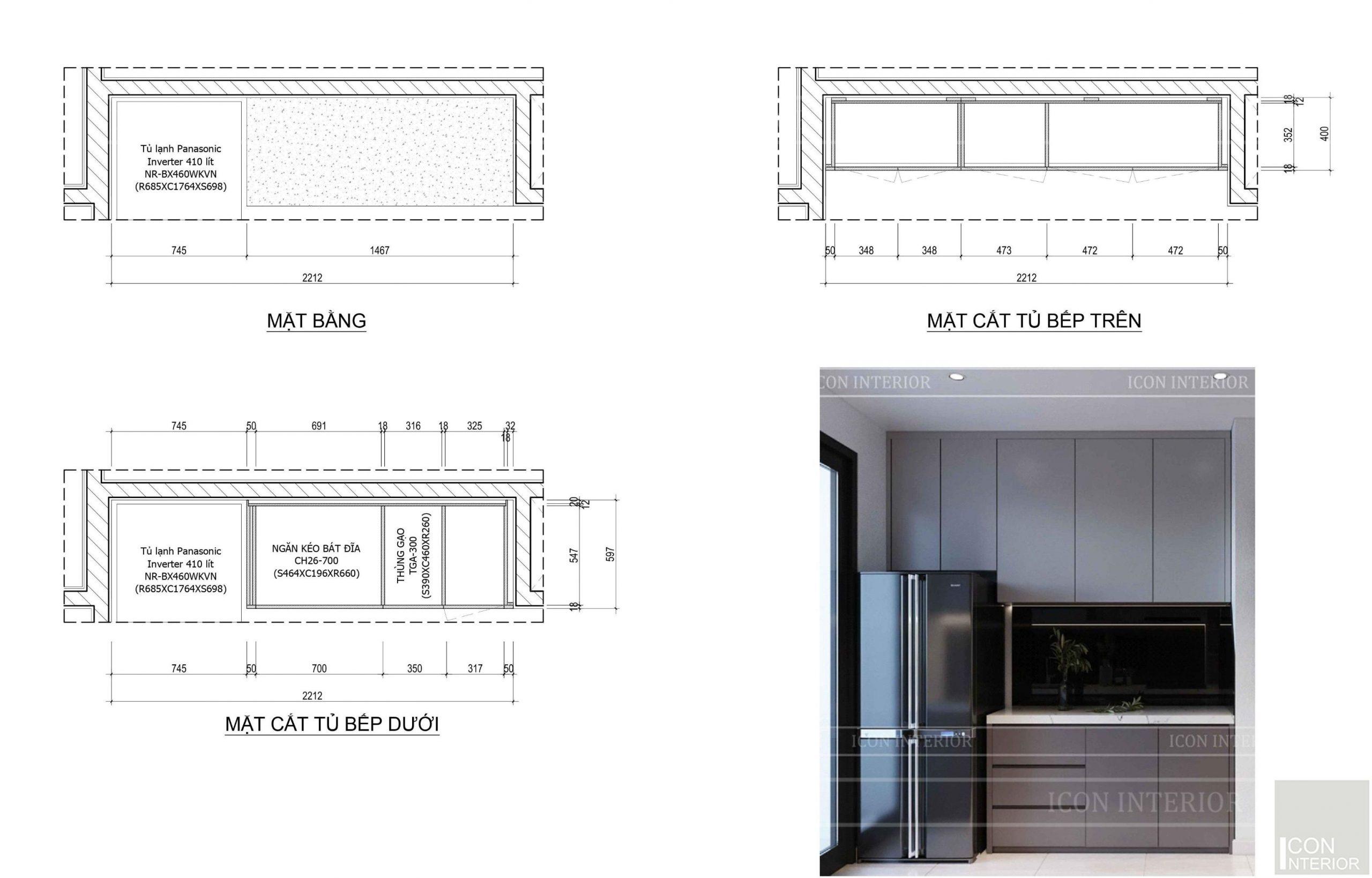 Kích thước tiêu chuẩn của đồ nội thất 4