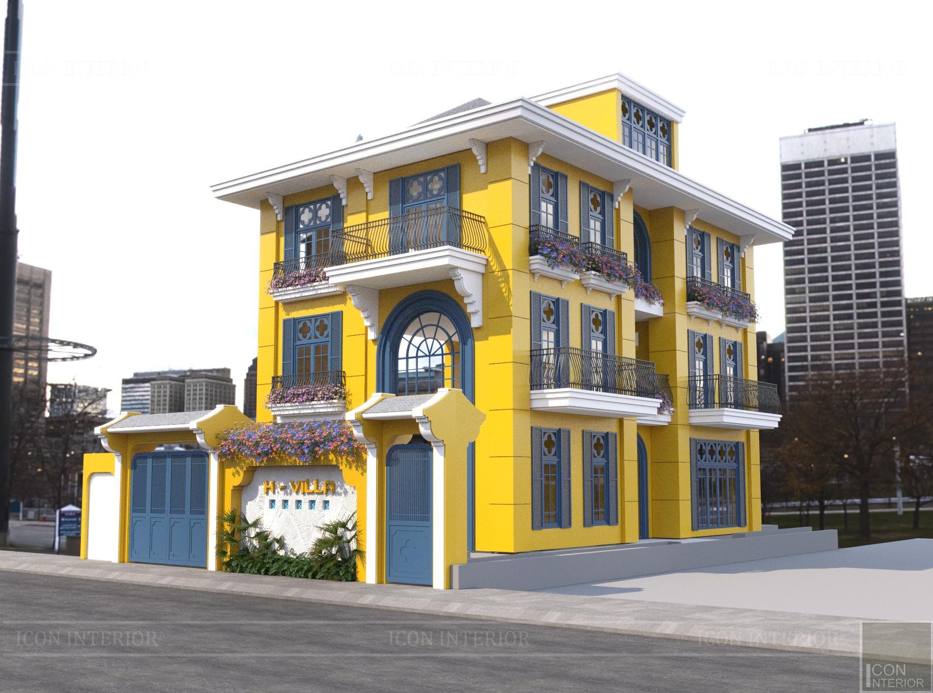 Màu sơn nhà đẹp phong cách mới