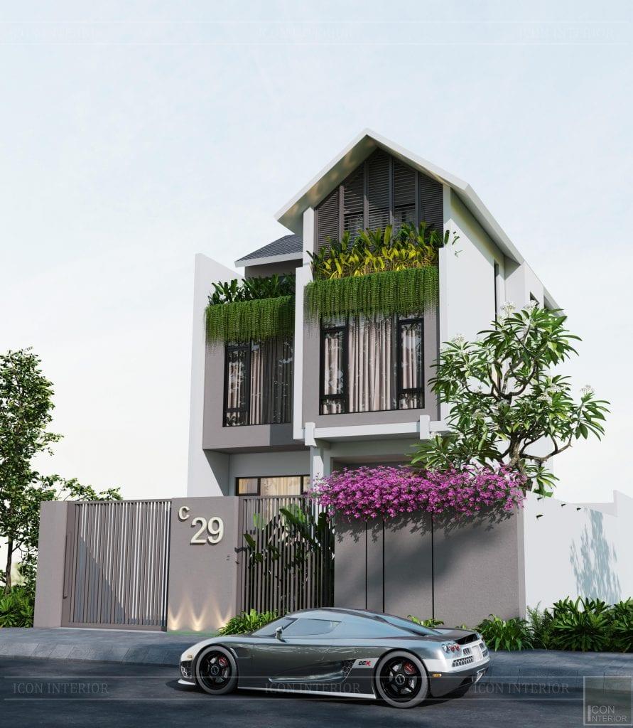 Màu sơn nhà đẹp cho tổng thể mỹ mãn