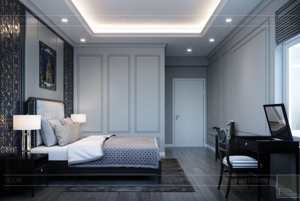 Màu sơn phòng ngủ tạo cảm giác thư giản, thoải mái