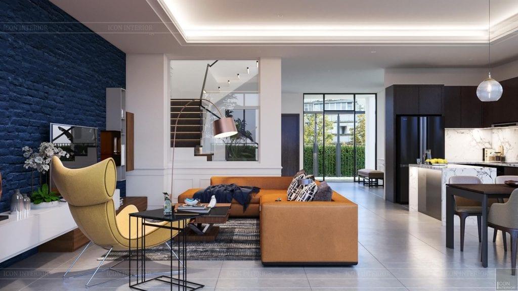 Thiết kế nhà theo không gian mở độc quyền bởi ICON