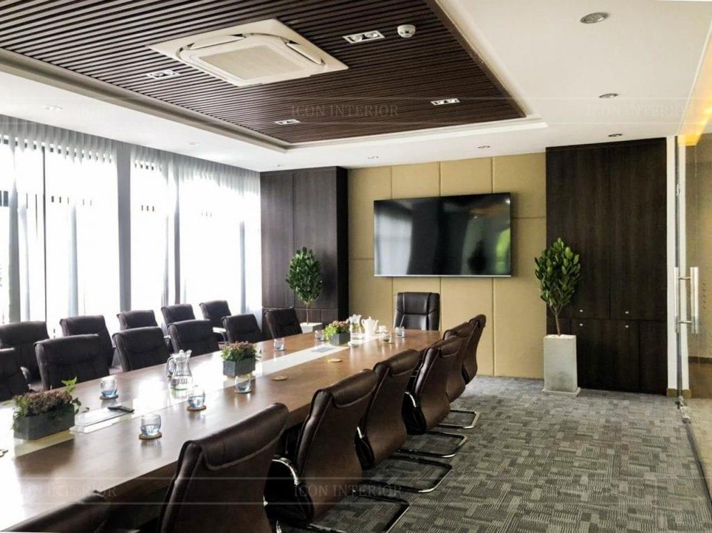 Cách bố trí phòng họp bên trong phòng giám đốc