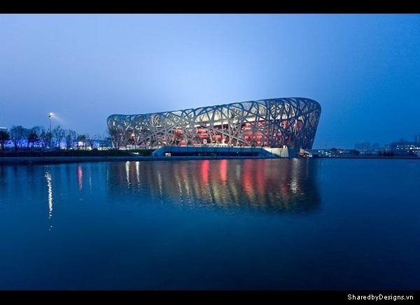 Sân vận động quốc gia đặc trưng phong cách Parametric