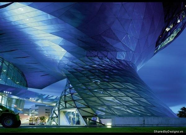 Tòa nhà bmw tại Đức sử dụng Parametric Design