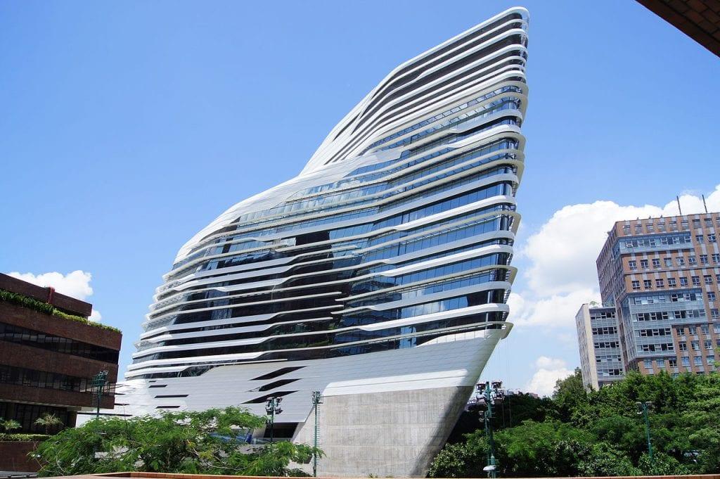 Trường Đại học Bách Khoa, Hong Kong. Một kiến trúc Parametric Design điển hình