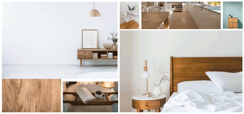 Chất liệu gỗ thể hiện đẳng cấp Scandinavian Style