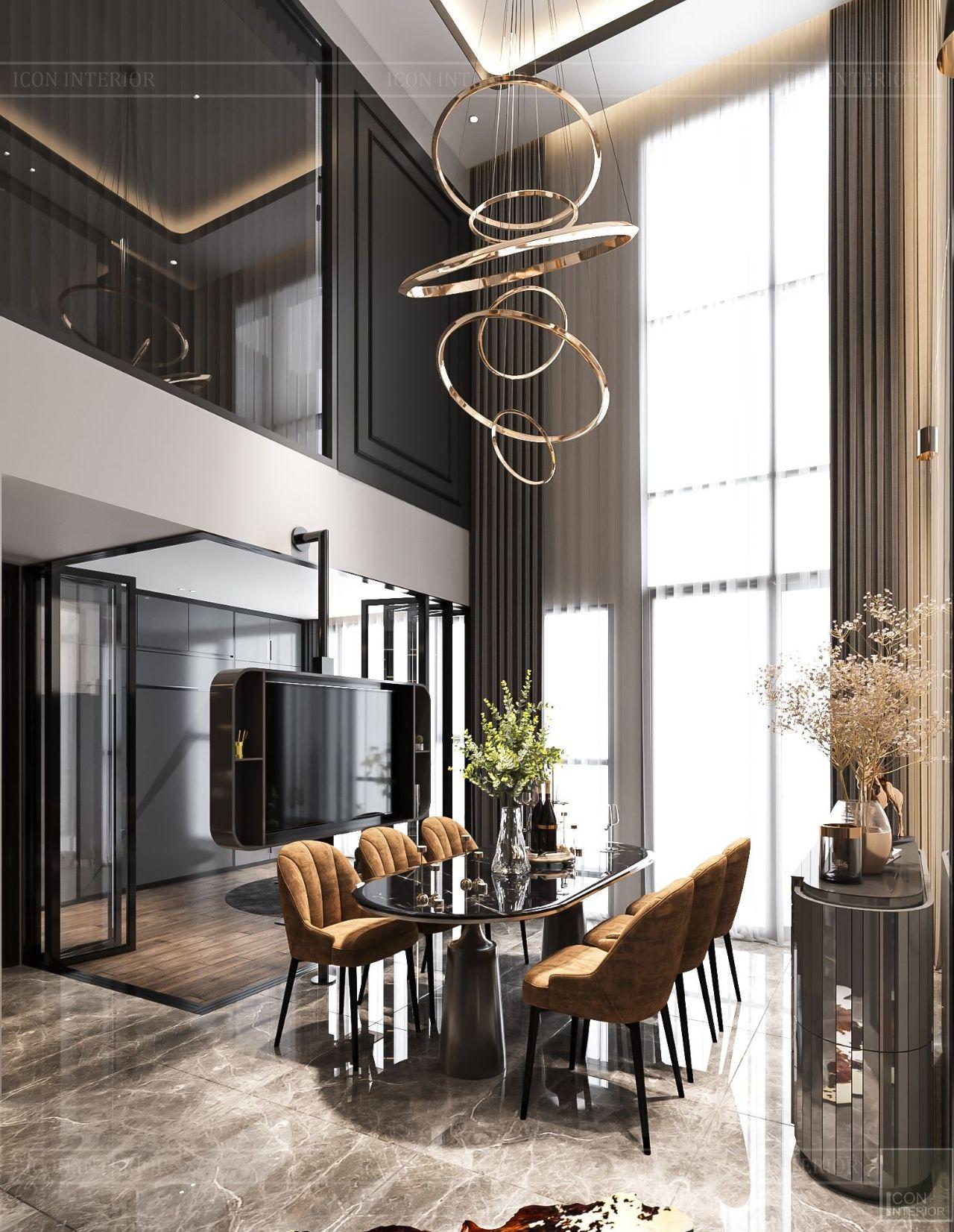 Mẫu thiết kế nội thất căn hộ 100m2