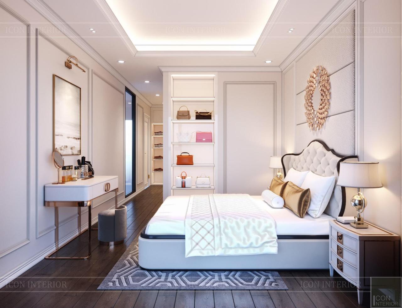 Thiết Kế Nội Thất Căn Hộ Duplex Feliz En Vista 103m2 phòng ngủ master
