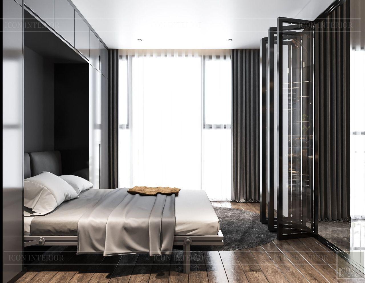 Phòng ngủ Căn hộ Feliz En Vista Ms. Bích