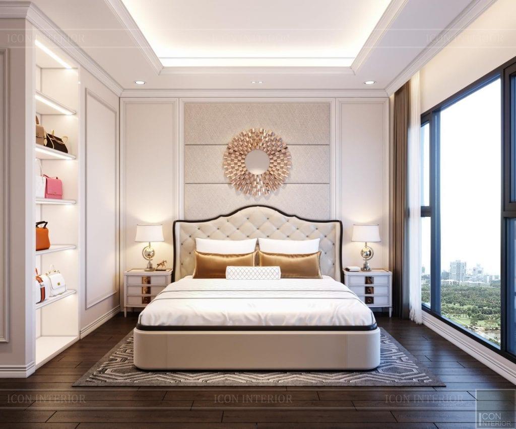 Phong cách nội thất phòng ngủ Tân Cổ Điển