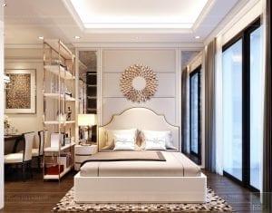thiết kế phòng ngủ neo classic