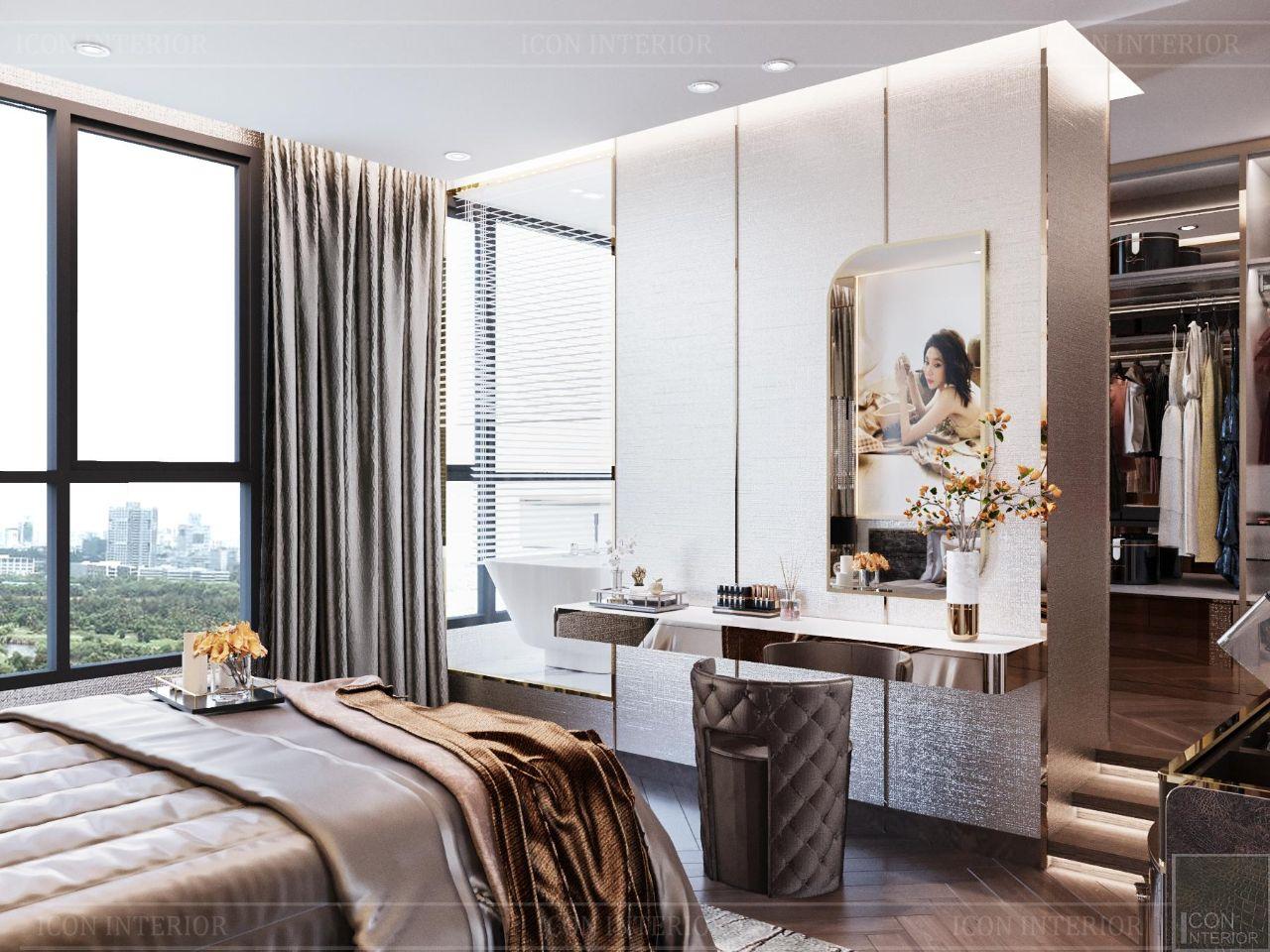 thiết kế căn hộ Vinhomes Central Park 90m2 Ms. Linh