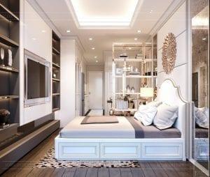 thiết kế phòng ngủ neoclassic