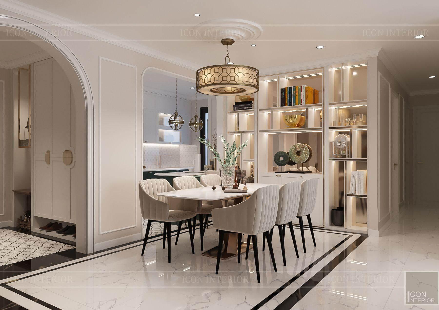 Thiết kế căn hộ Hado Centrosa 139m2 Mr.Toàn