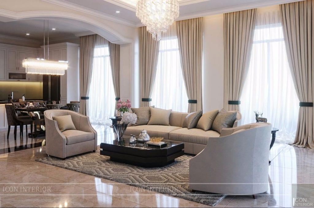 Thiết kế nội thất phong cách Neo Classic
