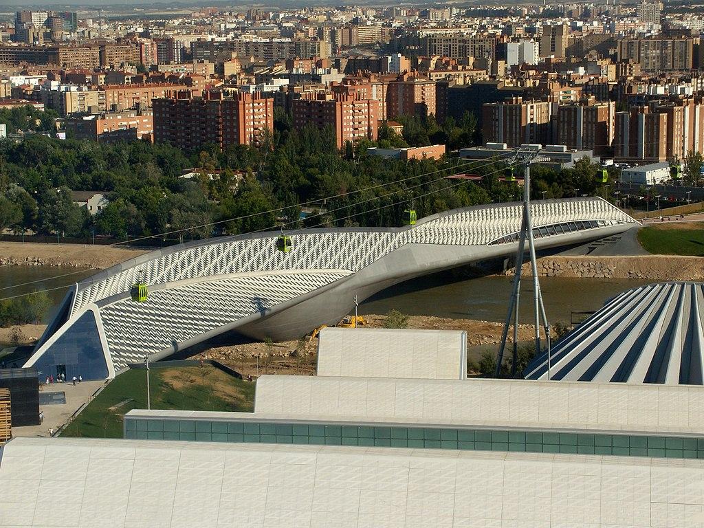 Cầu pavilion lấy cảm hứng parametric style