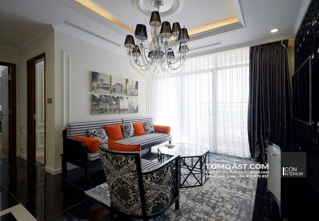 Công trình thiết kế nội thất Indochine Style