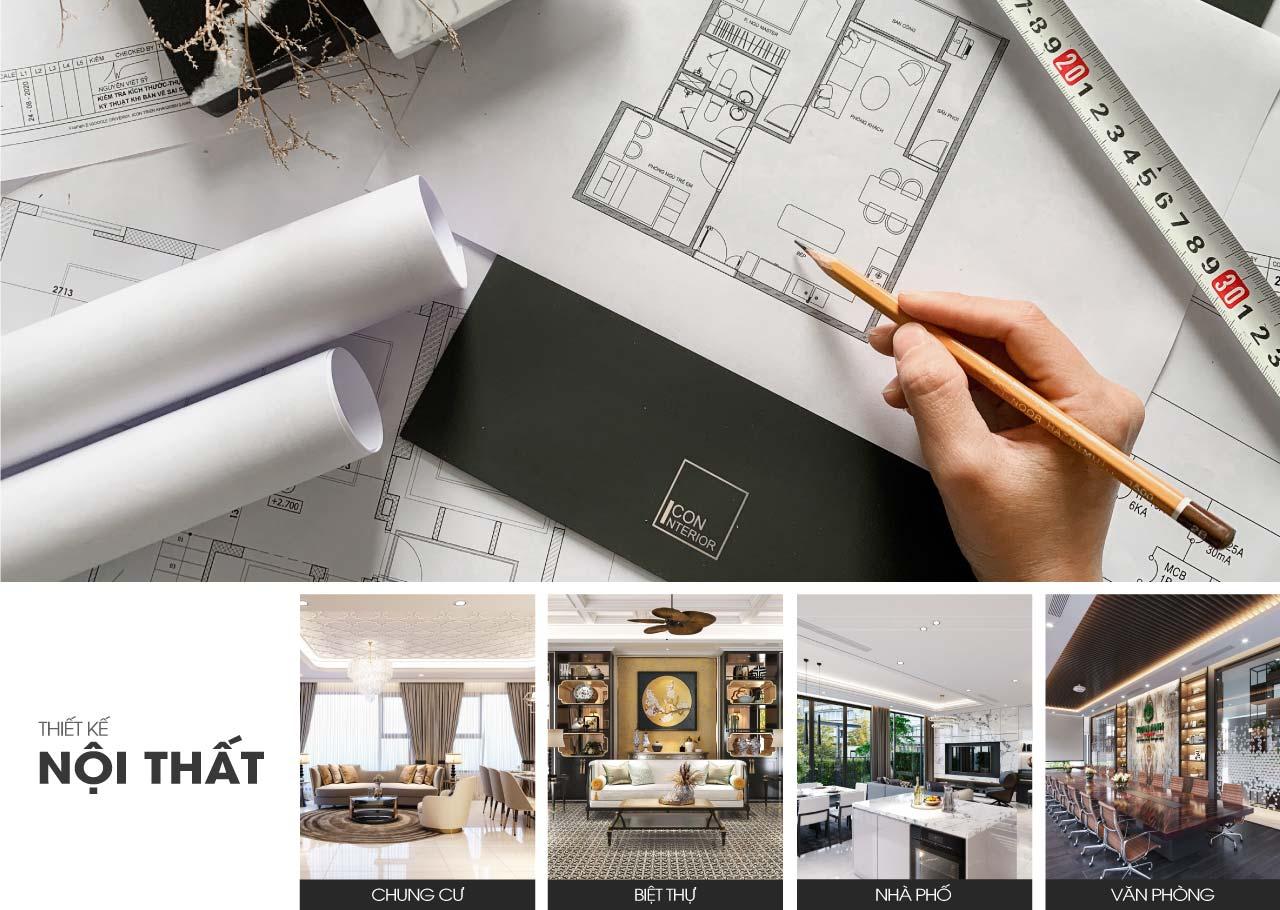 Liên hệ thiết kế nội thất iconinterior