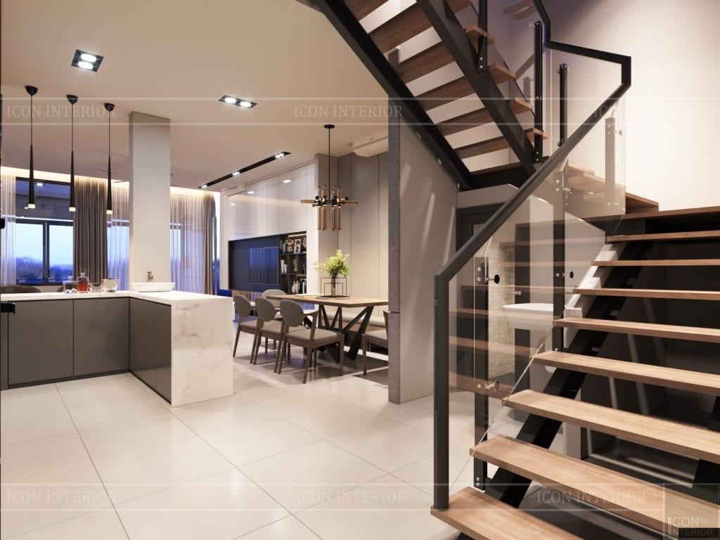 Mẫu cầu thang đẹp cho nhà ở