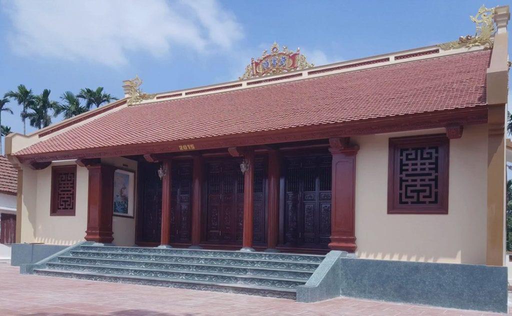 nhà gỗ 4 gian truyền thống
