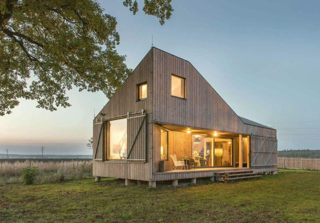 Sáng tạo nhà gỗ